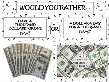 Would You Rather... Ice Breaker Activity