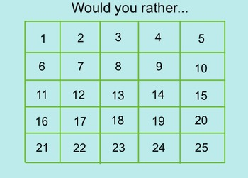 Would You Rather... (Interactive Ice Breaker)