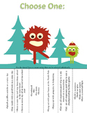 Preview: Which One Do You Choose? Language Activity for Winter (No Prep)