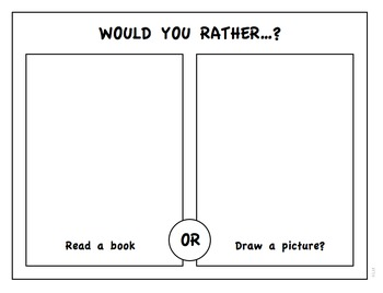 Would You Rather? Morning Opener - Week 1