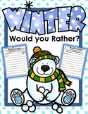 Opinion Writing: Would You Rather Winter