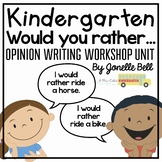 Opinion Writing Would You Rather?