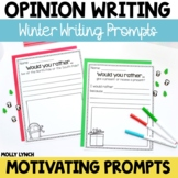 Would You Rather Opinion Writing {Winter Edition}