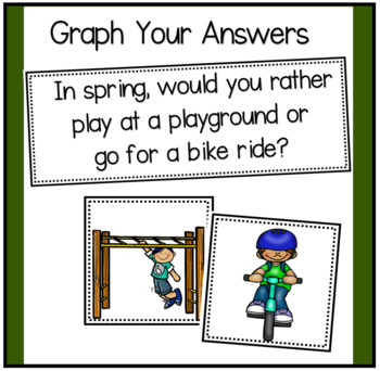 Opinion Writing and Graphing about Seasons