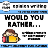 Persuasive Writing Prompts Would You Rather