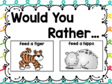 Would You Rather: Question, Answer, & Justify