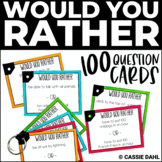 Would You Rather | Printable Question Cards
