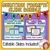 Would You Rather Questions and Writing Prompts Slide Bundle