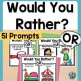Would You Rather Questions for Kids Digital and Print for