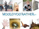 Would You Rather...Questions for Your Classroom