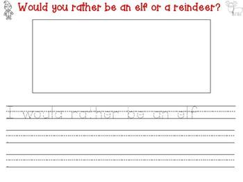 Would You Rather: Reindeer/Elf