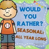 Would You Rather Questions for Kids - Conversation Cards f