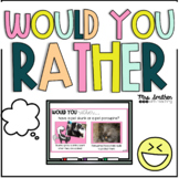 Would You Rather Wednesday Slides - Morning Meeting - Rela