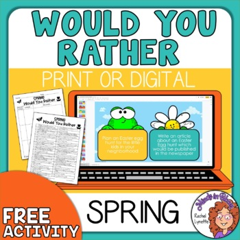 Would You Rather Spring and Easter!  ~~FREE~~
