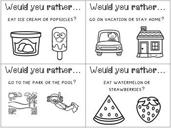 Would You Rather Questions (Summer)