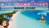 Would You Rather | Summer Edition | Google Slides | Intera