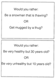 """Would You Rather """"TH"""" and /R/ Articulation Carryover Actitvity"""