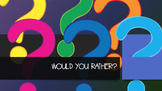 Would You Rather Team Building Activity