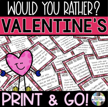 Would You Rather - Valentine's Day Game