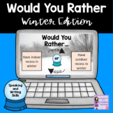 Would You Rather Winter Edition