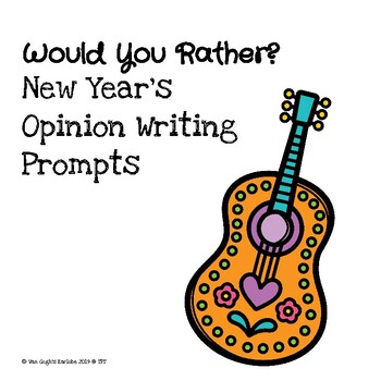 (Dollar Deal) Would You Rather...? Writing Prompts