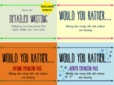Would You Rather Writing Skills Bundle