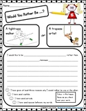 Writing Prompts - 80+ Student Writing Templates - Would Yo