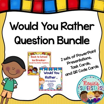 Would you Rather Questions Bundle