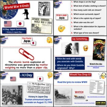 Would you drop it?- Walkaround Activity on the atomic bomb in WW2 and 5-E Lesson