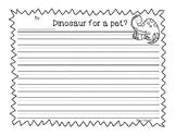 Would you like a dinosaur as a pet? Opinion Writing