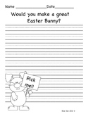 Would you make a great Easter Bunny Writing