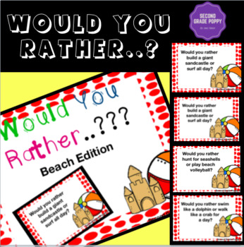 Would you rather..???- Beach Edition