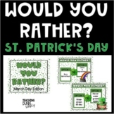 Would you rather? Digital - St. Patrick's Day