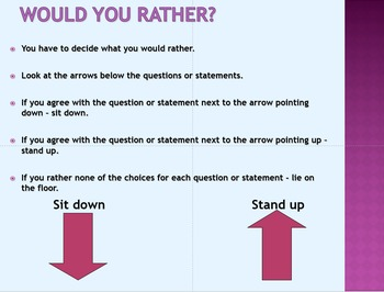 Would you rather? Games and speaking activities