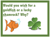 Would you rather SH St Patrick's Day Cards