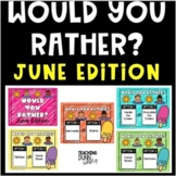 Would you rather Summer Questions - Digital