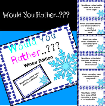 Would you rather..? Winter Edition