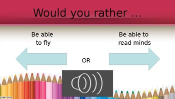 Would you rather powerpoint (Editable)