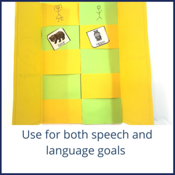 Woven Books for Speech and Language Therapy