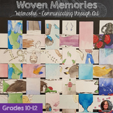 Woven Memory Timeline - Communication through Art -AP Art