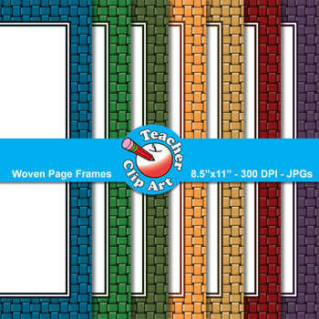 Woven Page Frames — 9 Frames