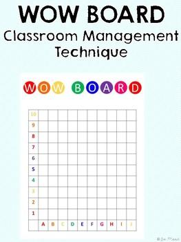 Wow Board! Classroom Management Technique