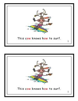 Wow! This Cow Knows How . . . -ow Family Reader