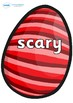 Wow Words on Easter Eggs (Stripes)