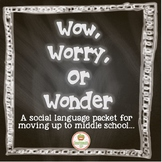Executive Functioning Middle School