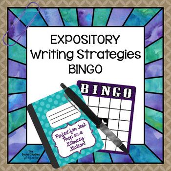 Expository Writing Test Prep BINGO