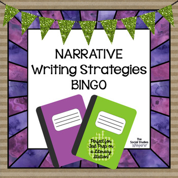 Narrative Writing Test Prep BINGO