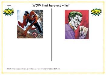 Wow that hero and villain