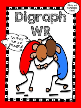 Wr Consonant Digraph - Word Work! No Prep! Real Photos!