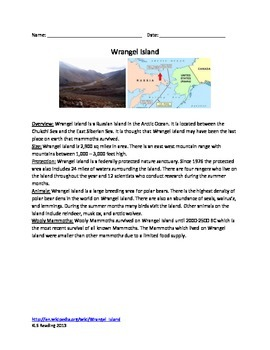 Wrangel Island - Russia Review Article - Facts History Nature